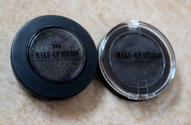 Zwarte oogschaduw Make-up Studio