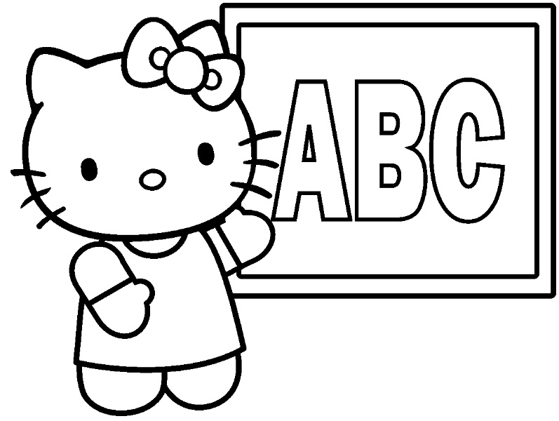 coloriage-hello-kitty-a-b-c-en-ligne1