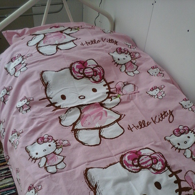 hello kitty dekbed